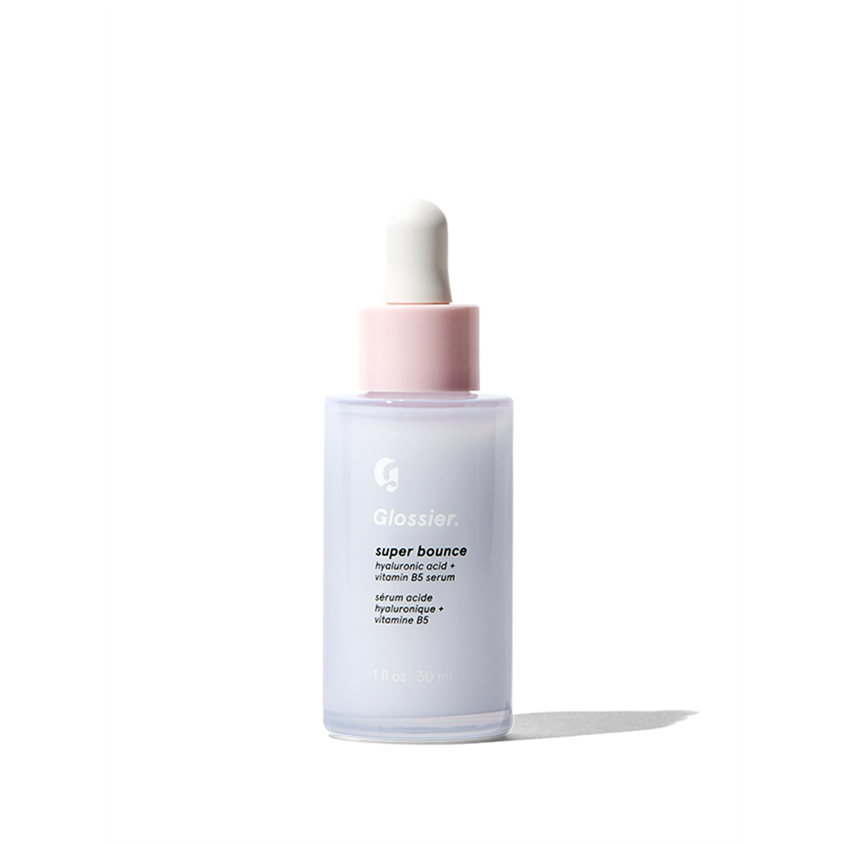 Glossier Super Bounce, Hydrating serum for you skin, 0.5 fl oz, plumps skin up with moisture and Vitamin B5 when your skin is feeling dry