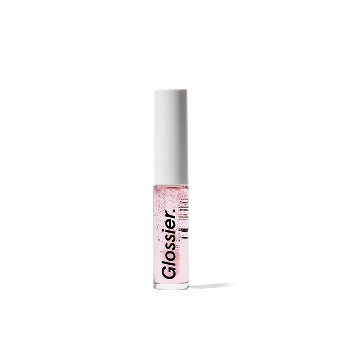 Glossier Lip Gloss, Cushiony crystal clear shine, .14 fl oz, lips stay soft and hydrated thanks to moisturizing Vitamin E