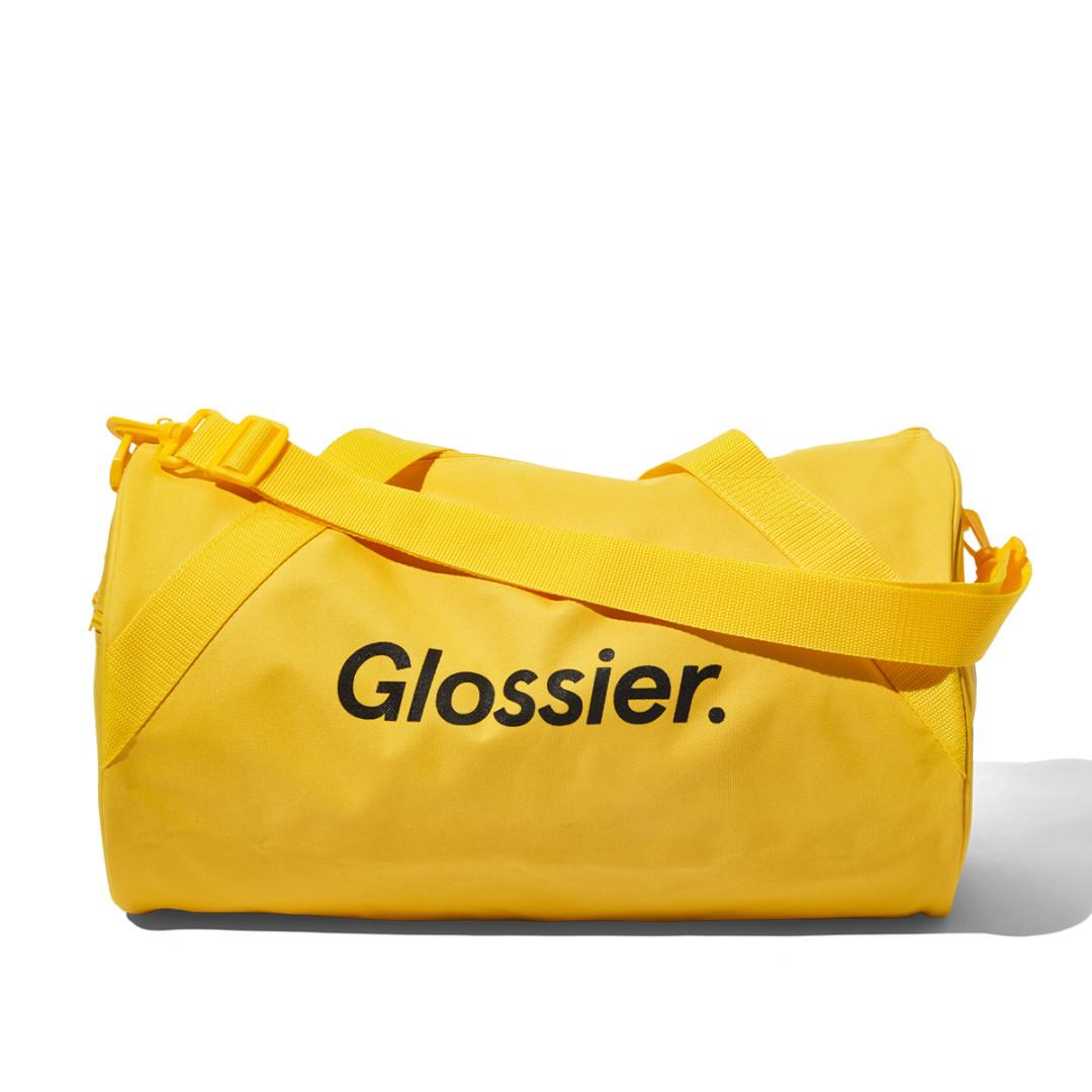 Sunshine Yellow Duffel Bag